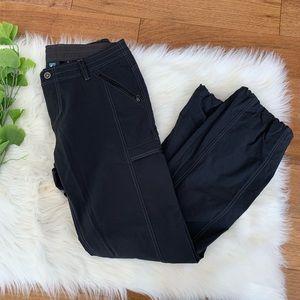 Kuhl | Women's Black Hiking Pants Bungee Ankle 14